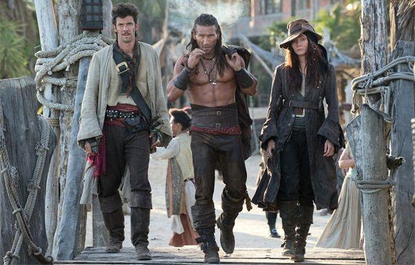 Чорні Вітрила - піратський серіал для дорослих
