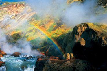 Долина гейзерів на камчатці
