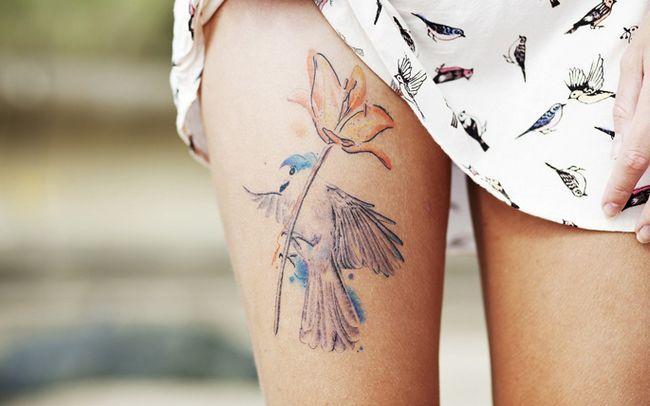 Цікаві татуювання для дівчат (26 фото)
