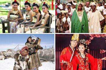 Незвичайні весільні традиції