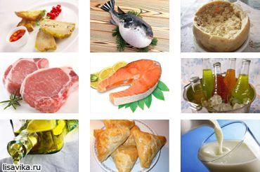 Небезпечні делікатеси і продукти (фото)