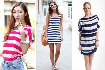 Смугастий одяг для дівчат: як і з чим носити