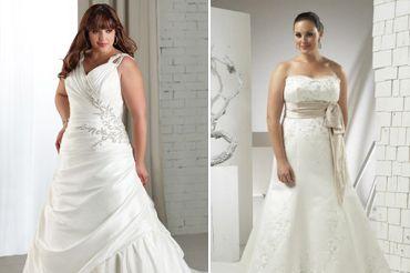 Весільні сукні для повних: правильний вибір