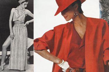 Жіноча мода 80х (30 фото)